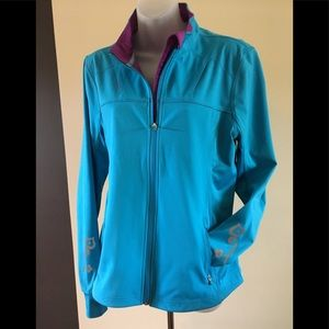 ATHLETA  Windbreaker Warm Up Jacket XL